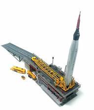 Atlas Rocket with Launch Pad and Mercury Capsule Atlantis 1833 1/110