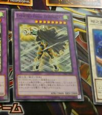 YUGIOH JAPANESE SUPER RARE CARD CARTE Elemental HERO Great Tornado SPRG-JP056 **
