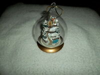 Winterberry Cottage Violet R Schwenig Ornament Limited Edition Franklin Mint