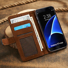Luxury Magnetic Flip Cover Stand Wallet Leather Case For Samsung Galaxy Models
