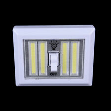 4*COB LED Light Switch Wall Night Lights Battery Operated Closet