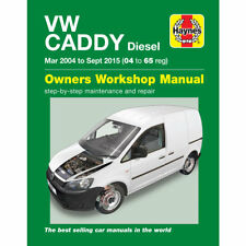 VW Caddy Van Haynes Manual March 2004- Sep 15 1.6 1.9 2.0 Workshop