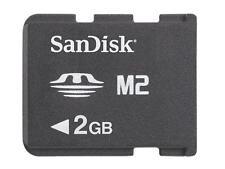 2GB Memory Stick M2 Micro SanDisk - 2 GB S500 T650 T700 T707 W200 W205 W302 W350