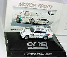 1:87 BMW M3 E30 DTM 1991 Linder Original Pièces 16 Altfrid Heger - herpa 3533