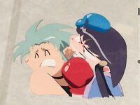 Tenchi Muyo official rare OVERSIZED animation cel Ryoko Ayeka import