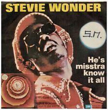 15807 - STEVIE WONDER - HE'S MISSTRA KNOW IT ALL