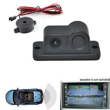 170° Waterproof Car Rear View Reverse Backup CMOS Camera with Parking Sensor Kit