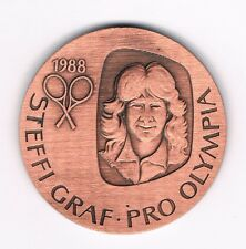 Medaille  Steffi Graf  1988  Pro Olympia  Tennis    (Album 1)