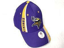 Nfl Team Apparel Football Minessota Vikings Dad Cap Hat OneSize New