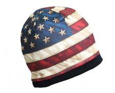 AMERICAN FLAG Beanie Knit Skull Cap Motorcycle Biker USMC Hat USA Ski Snowboard