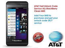AT&T Fast Unlock Code Service ALL BlackBerry Q5 Z10 Q10 Z3 Z3 Q5 9790 9720