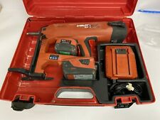 Hilti BX 3 02 Battery Actuated Fastener Fastening Tool Kit 22V w/Batteries & Cha