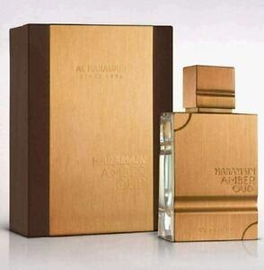 Al Haramain Amber Oud GOLD EDITION 2 oz 60 ml Eau De Parfum Spray Men NEW SEALED