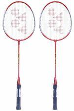 Yonex GR 303 Aluminum Blend Badminton Racquet Combo Of Red Pack Of 2