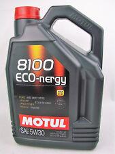 Aceite de Motor 5W30 5Liter Motul 8100 Eco-Nergy SAE 5W-30 Diesel Gasolina