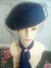Sombrero Vintage anotó Pastillero-Azul Marino Kangol