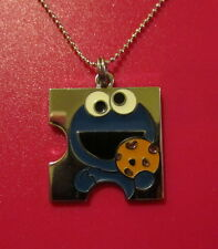 Cookie Monster Necklace-Puzzle