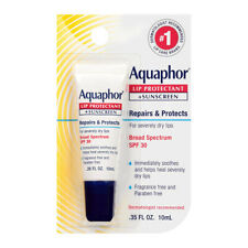 Aquaphor Lip Protectant Sunscreen Ointment Broad Spectrum Spf30 Relieves Chapped