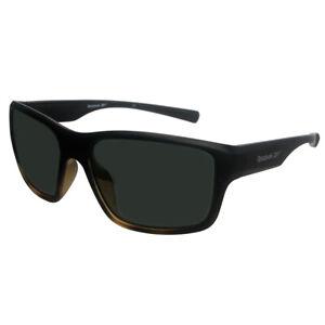 Reebok Golf Men's RBOP 2106 Classic Sport Sunglasses, Black Tort Frame/Smoke