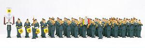 Preiser 13256 Spur H0 Figuren, Musikkorps Luftwaffe, Bundeswehr #NEU in OVP#