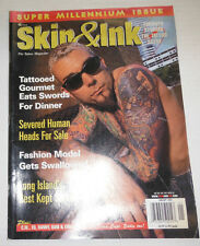 Skin & Ink Magazine Toronto Storms The Tattoo Scene January 2000 110714R1