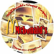 McDonalds Recipes Cookbook Top Secret Fast Food CD Big Mac Sauce Fries Shake