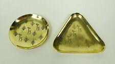 Deux Assiette Coquilles A. G. Bunge Um 1920