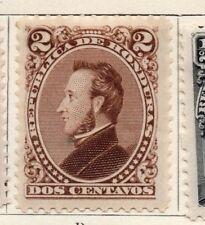 Honduras 1878 Early Issue Fine Mint Hinged 2c. 138840