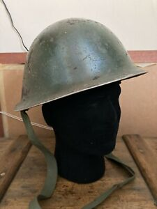WW2 British Army Issue Turtle Helmet with New Liner