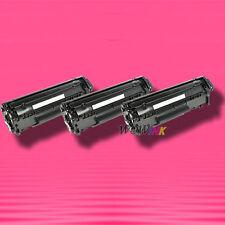 3 Non-OEM Alternative TONER for HP Q2612A 12A LaserJet 1020 1022 1022n 1022nw