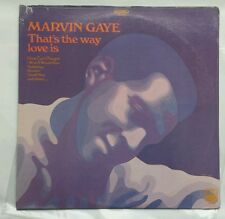 """MARVIN GAYE """"THAT'S THE WAY LOVE IS"""" SEALED Original Tamla TS 299 Released 1969"""
