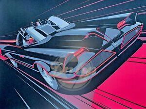 Batman Return Of The Caped Crusaders HCGArt Gabz Exclusive 36x24 Giclee Print
