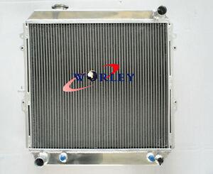 Aluminum Radiator for TOYOTA 4 Runner HILUX VZN130 3.0L 3VZ-FE V6 Petrol 3Core
