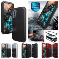 Rugged Metal Hybrid Case Screen Cover Waterproof For Samsung Galaxy S21 Plus 5G