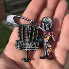 Disc Golf - NEW metal Festi Daze Bag, hat, lapel pin - Mando Disc Golf