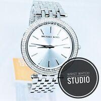 Original Michael Kors MK3190 Damen Armbanduhr Silber Darci mit Box