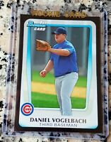 DANIEL VOGELBACH 2011 Bowman BLACK SP Rookie Card RC Mariners .500 BA 5 HRs HOT
