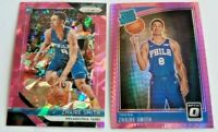 Zhaire Smith Pink Ice Prizm RC Pink Hyper Optic Rated Rookie Philadelphia 76ers