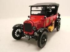 FORD modello T TOURING 1925 POMPIERI ROSSO / Nero, modello auto 1:24 / SUN STAR