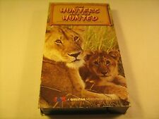 Rare VHS Tape THE HUNTERS AND THE HUNTED John Hurt QUESTAR 1995 [Z10c]
