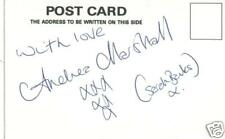 BROOKSIDE Andrea Marshall(Sarah Banks) Signed card