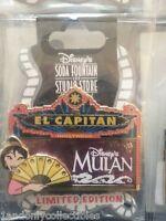 DSF DISNEY SODA FOUNTAIN Mulan  El Capitan Marquee PIN LE 300