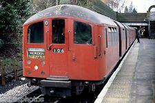 London Underground 11203 Colindale 16/03/78 Rail Photo