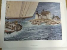 SEAWINDS BECKON Signed Print  by Ben Richmond... 1997