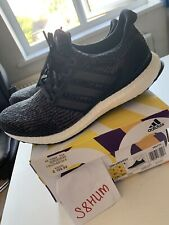 Adidas Mens Ultra Boost Trainers Black Oreo UK8.5 EU42 2/3 US9 New