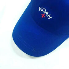 Noah NYC Embroidery Cross Logo Blue Adjustable Casual Snapback Cap Hat