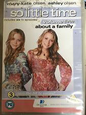 Mary-Kate & Ashley Olsen SO LITTLE TIME Volume 3 ~ 2001 TV Series | UK DVD