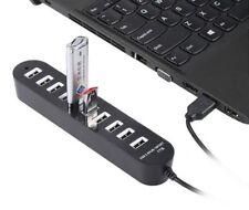 CIABATTA HUB USB 8 PORTE 1TB MULTIPRESA PENDRIVE PC STAZIONE RICARICA SMARTPHONE
