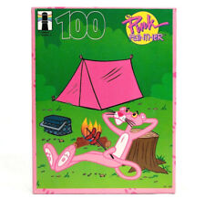 Pink Panther Puzzle 1995 Rainbow Works 100pcs