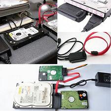 """USB 2.0 zu IDE SATA Adapterkabel Stecker für 2,5 """"3,5"""" Festplattenlaufwerk neu"""
